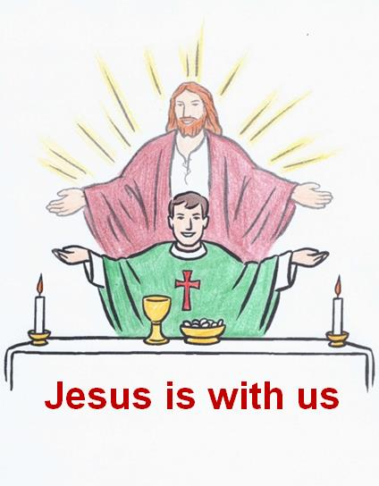 Jesus is with us Communion
